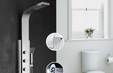 时尚现代镜面淋浴柱