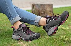 运动户外时尚登山鞋 防水耐磨透气男女徒步鞋