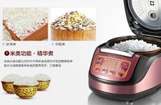 智能歐式豪華多功能電飯鍋 可油炸電飯鍋