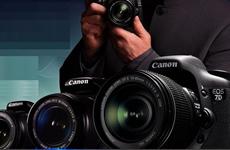 佳能專業單反數碼相機7D