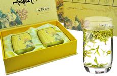 西湖龙井新茶明前精品绿茶 礼盒装茶叶