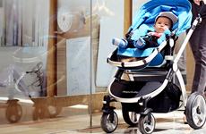 高景观 新款婴儿车 推车 可调节童车