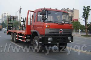 新型后八轮平板运输车HQG5250TPBGD4