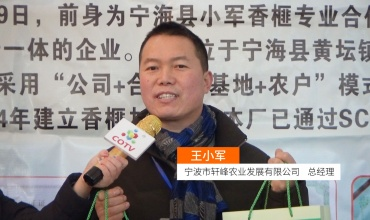 COTV全球直播: 宁波市轩峰农业发展有限公司