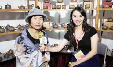 COTV全球直播: 广西钦州坭兴陶张振和精艺工作室