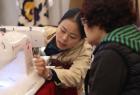 中网市场ChinaOMP.com_2016中国国际拼布邀请赛暨拼布手工艺术展北京服装学院开幕