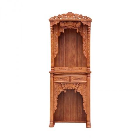 全实木佛龛立柜 吊柜神龛神台佛堂佛柜财神供桌红木