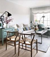 装修效果图客厅 时下最流行的小户型客厅装修