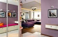 浪漫迷人的110平方米紫色调美家