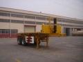 平板自卸车 集装箱自卸半挂车  侧翻自卸车