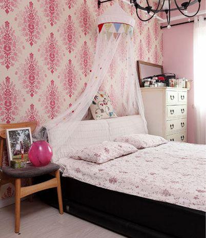 日本人的小卧室窗帘效果图大全