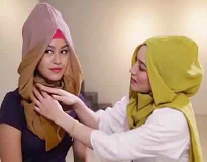 优衣库跟混血设计师合作 联名推出穆斯林女装