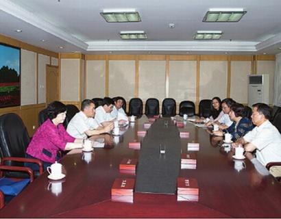 张茅会见世界知识产权组织副总干事王彬颖一行