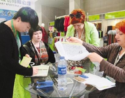 2013中国柯桥国际纺织品面辅料博览会开幕