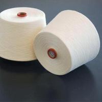 潍坊冠杰纺织现货供应 21支气流纺?#29992;?#32433; T65/C35 21S针织纱
