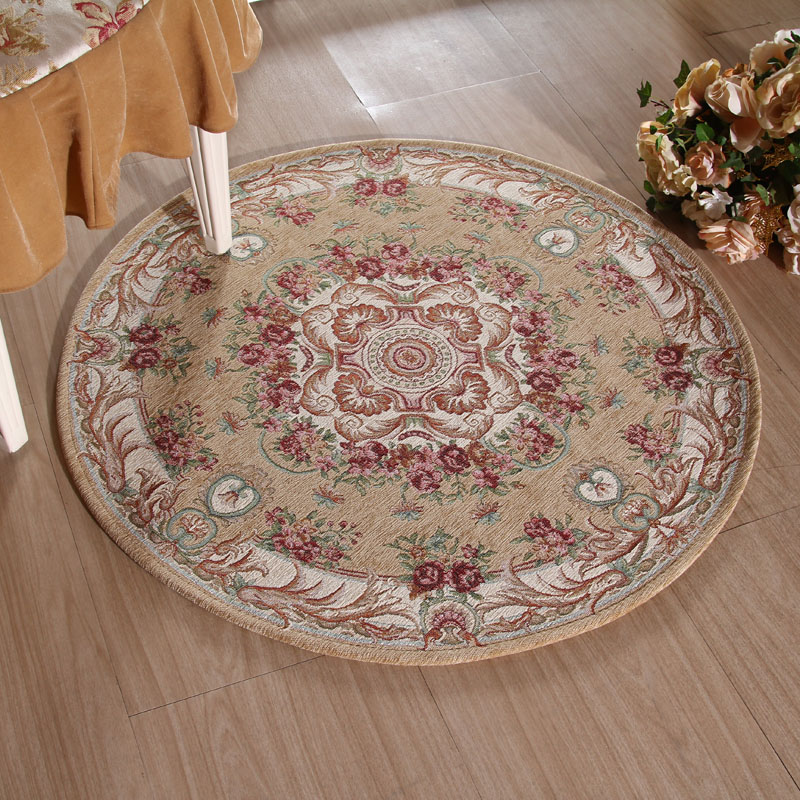 欧式复古宫廷花纹地毯