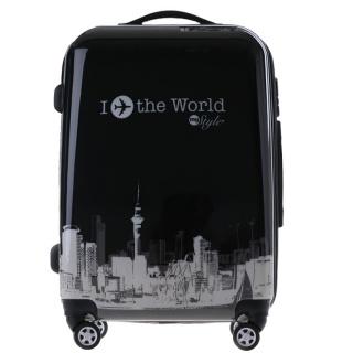 时尚东方明珠拉杆箱万向轮飞机行李箱?#20449;?#21516;款20寸24寸旅行箱
