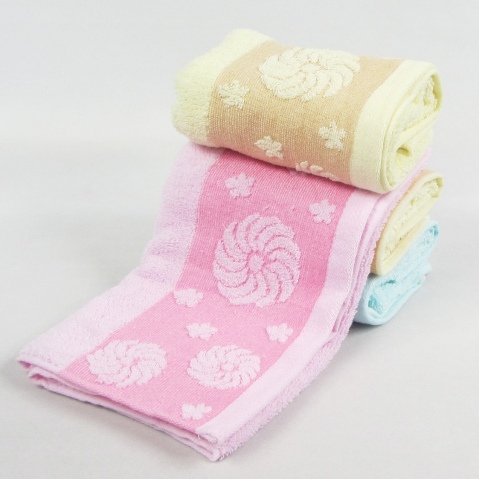大风车纯棉毛巾 柔软吸水面巾 全棉毛巾赠品 加大加厚毛巾