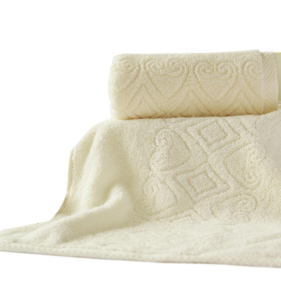 蜗牛花毛巾