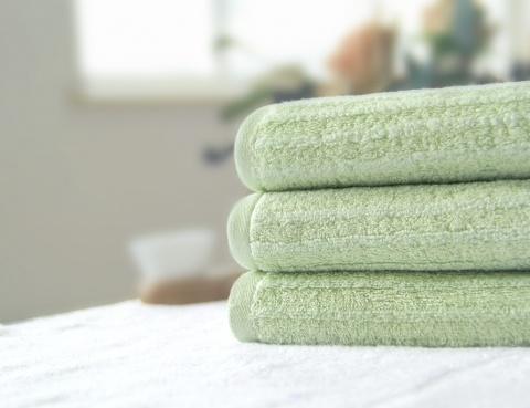 无捻竹纤维毛巾