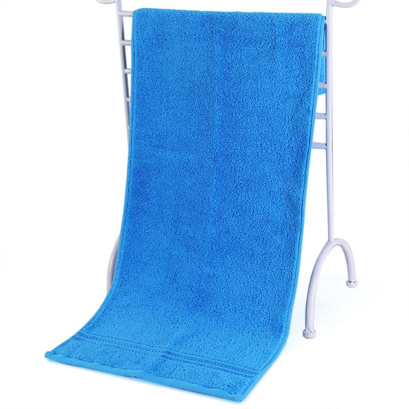 素色纯棉澡巾
