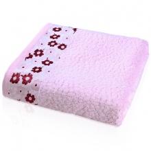 花之语竹纤维浴巾