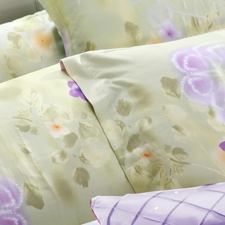 活性印花工艺床上用品40天丝四件套--艾雅