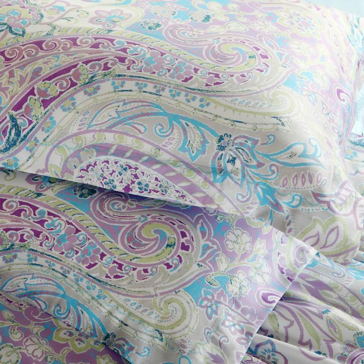 活性印花工艺床上用品40天丝四件套--爱薇雅