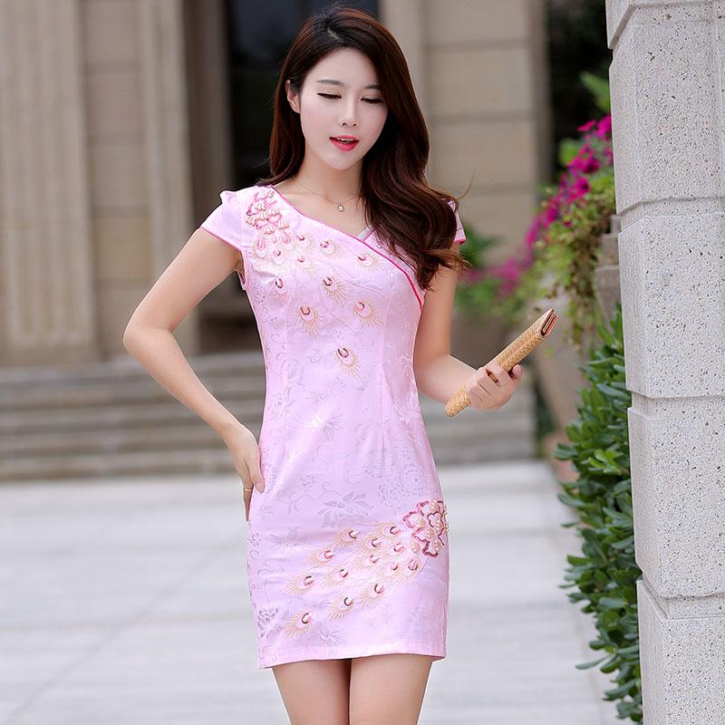 旗袍连衣裙