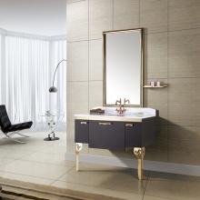 高雅大气 镜面/置物架/主柜 浴室柜组合