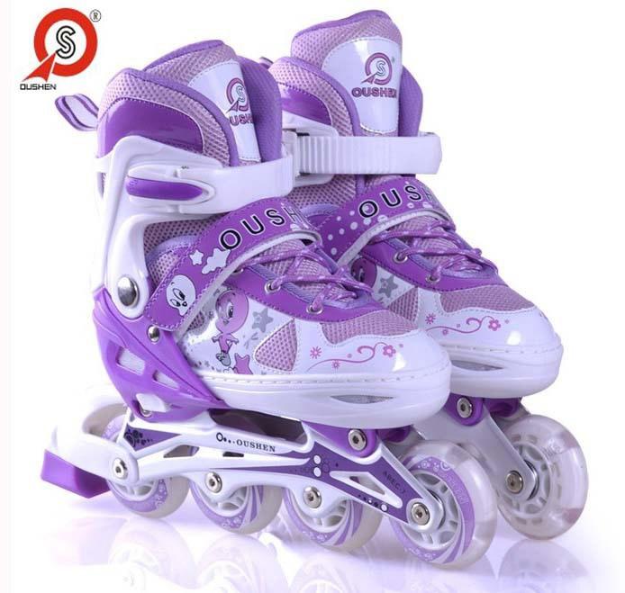 溜冰鞋儿童全套装 旱冰鞋滑冰鞋轮滑鞋男女