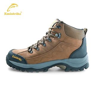 ?#20449;?#27454;高帮防水防滑户外鞋 头层牛皮高帮登山鞋