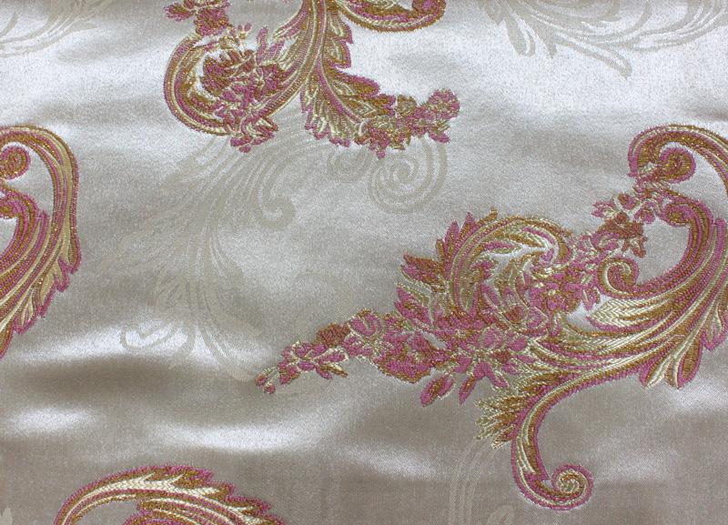 加厚色织大提花窗帘布