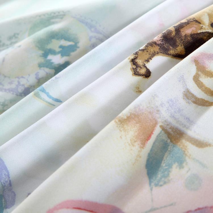 活性印花工艺床上用品40天丝四件套-奇妙世界