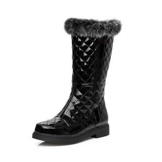 秋冬真皮时尚雪地靴
