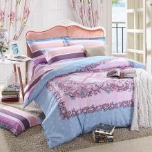 活性印花工艺床上用品全棉四件套--维纳斯