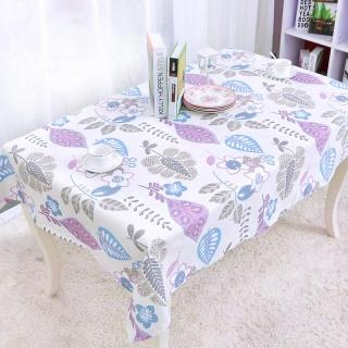 创意田园桌布台布 餐桌布布艺 鸟语花香图案桌布