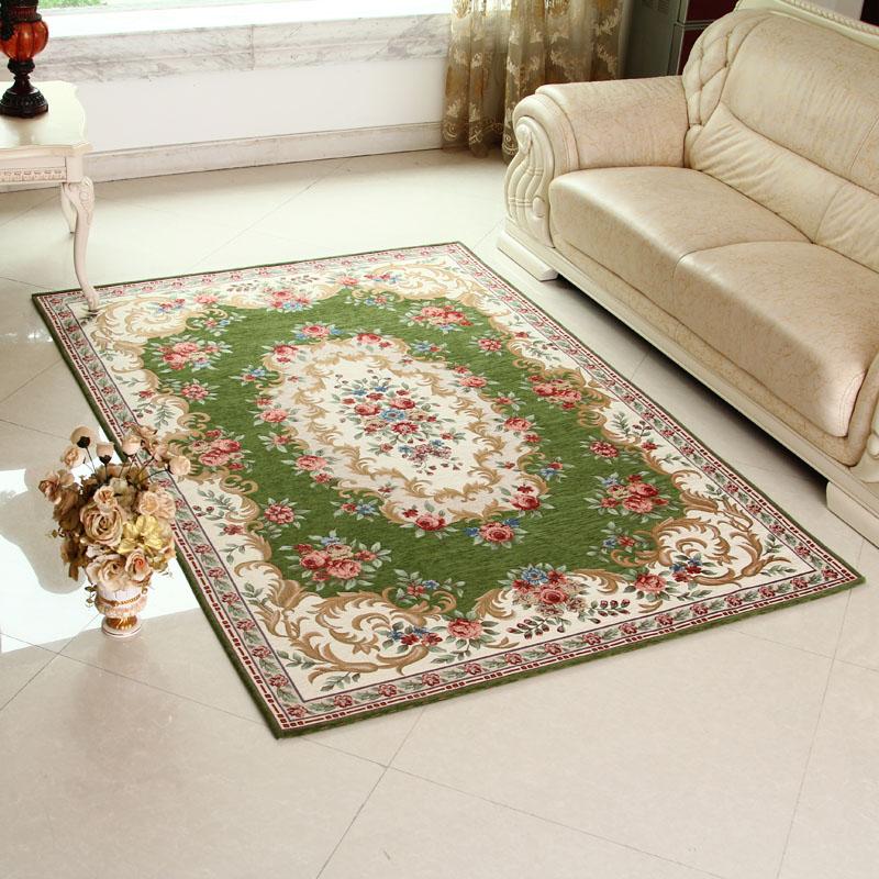 欧式复古 宫廷花纹地毯