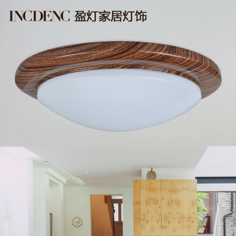 incdenc盈灯led吸顶灯大理石纹路卧室灯具客厅灯欧式树脂圆形灯