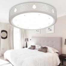 盈灯 客厅灯现代简约卧室灯具书房圆形餐厅房间灯饰LED吸顶灯