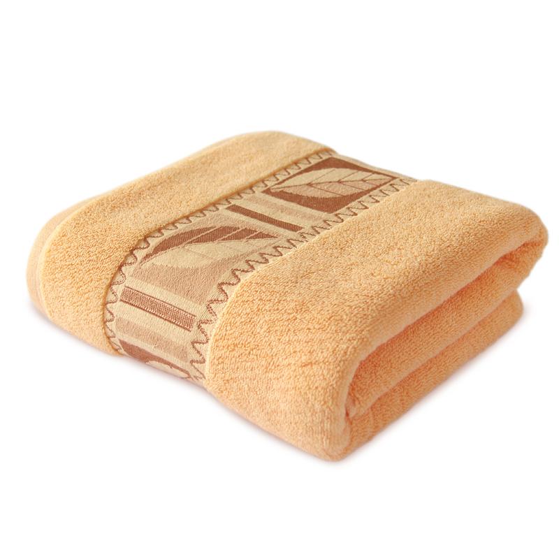 秋叶纯棉浴巾