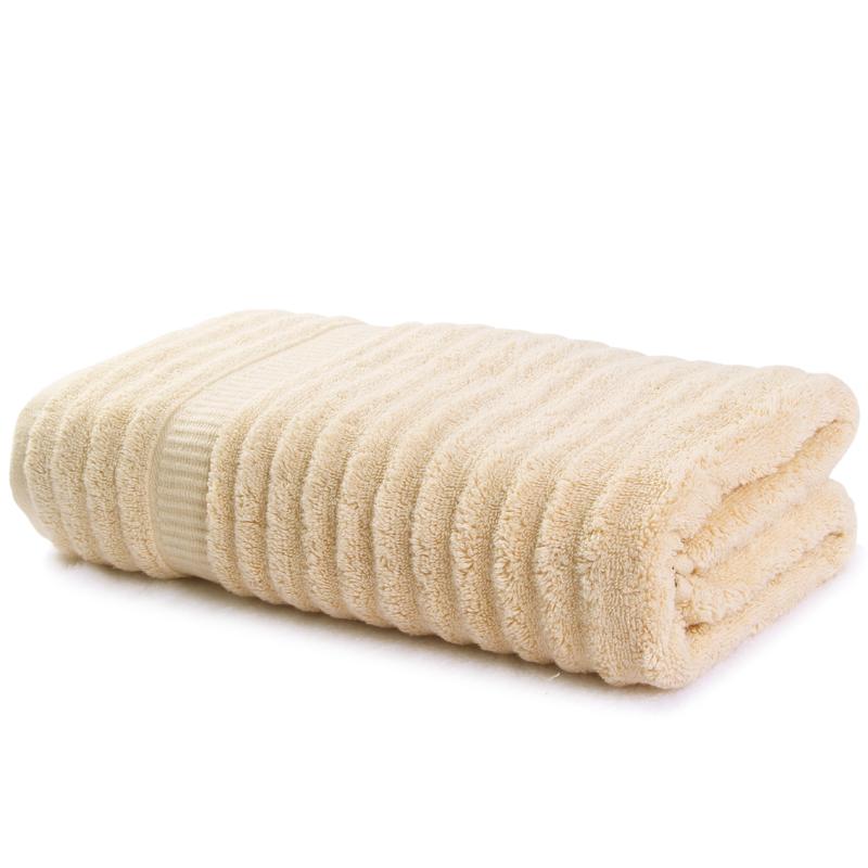 弱捻波浪毛浴巾