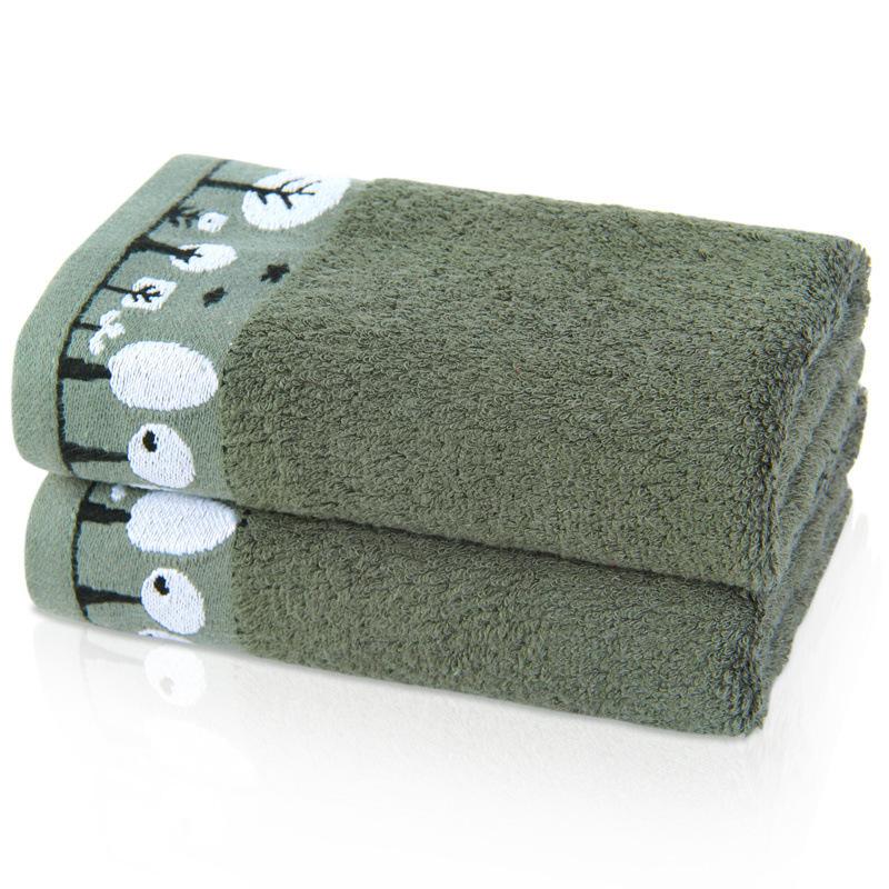 林之语纯棉毛巾生态有机棉竹棉混纺系列