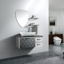 个性时尚美观 镜面/置物架/主柜 浴室柜组合