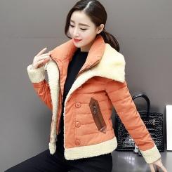 新款春秋季韩版羽绒服女修身外套潮