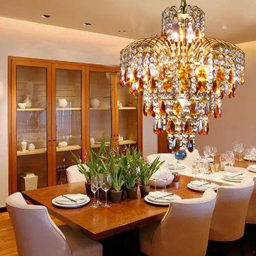 餐廳水晶吊燈客廳餐廳臥室燈具飾