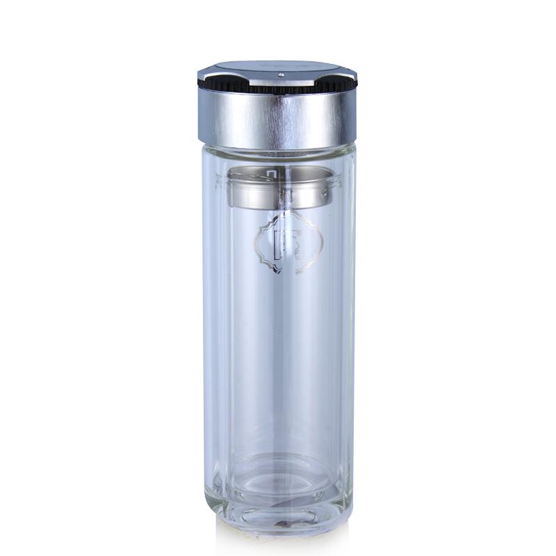 品牌水晶杯,飞扬双层耐高温水晶杯欧式时尚
