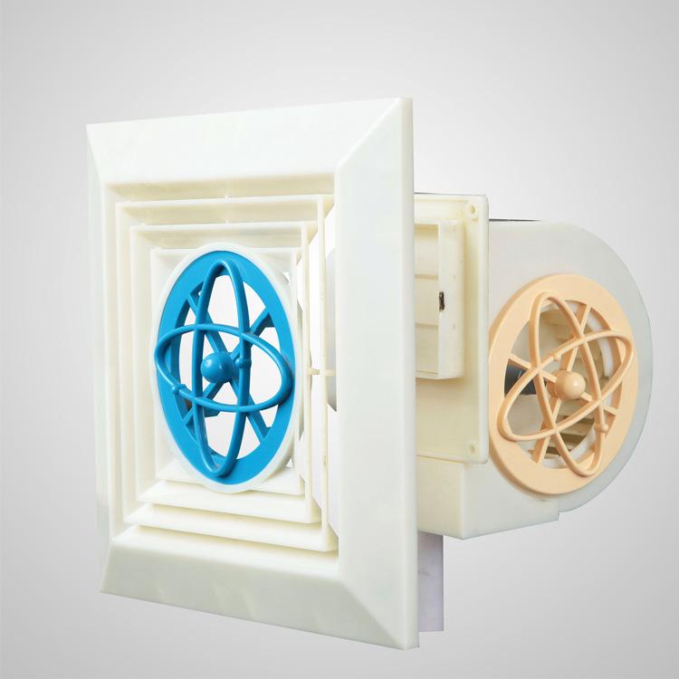 德吉力专利产品 小型排风扇 卫生间除臭 分体式换气扇