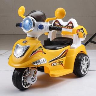 新款儿童电动摩托车 宝宝电动三轮车