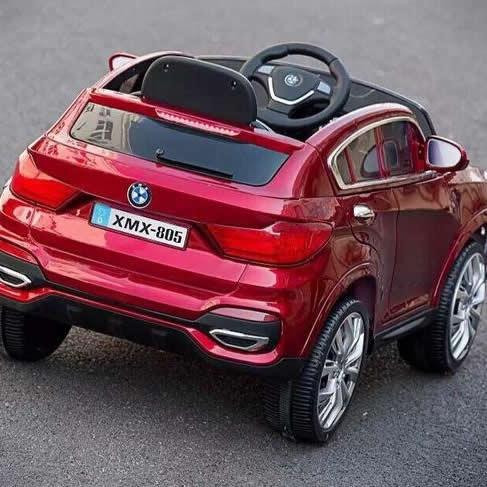 新款宝马x7儿童电动车四轮遥控童车